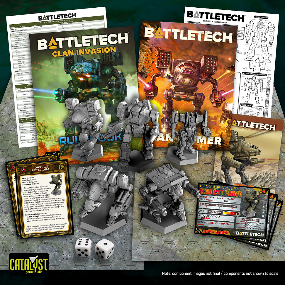 BattleTech Clan Invasion Set - Catalyst Game Labs