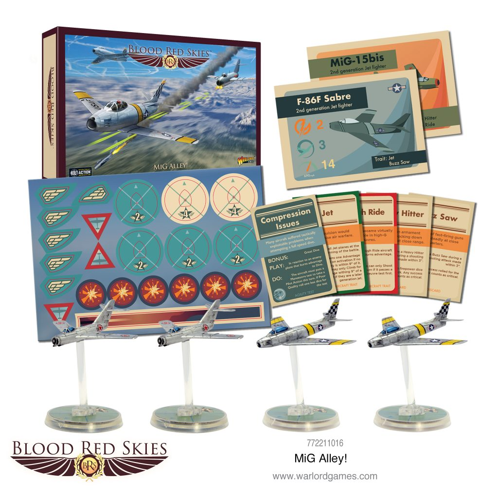 Blood Red Skies MiG Alley - Warlord Games