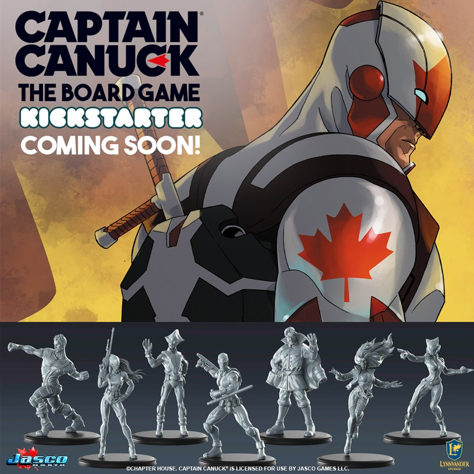 Captain Canuck - Jasco Games