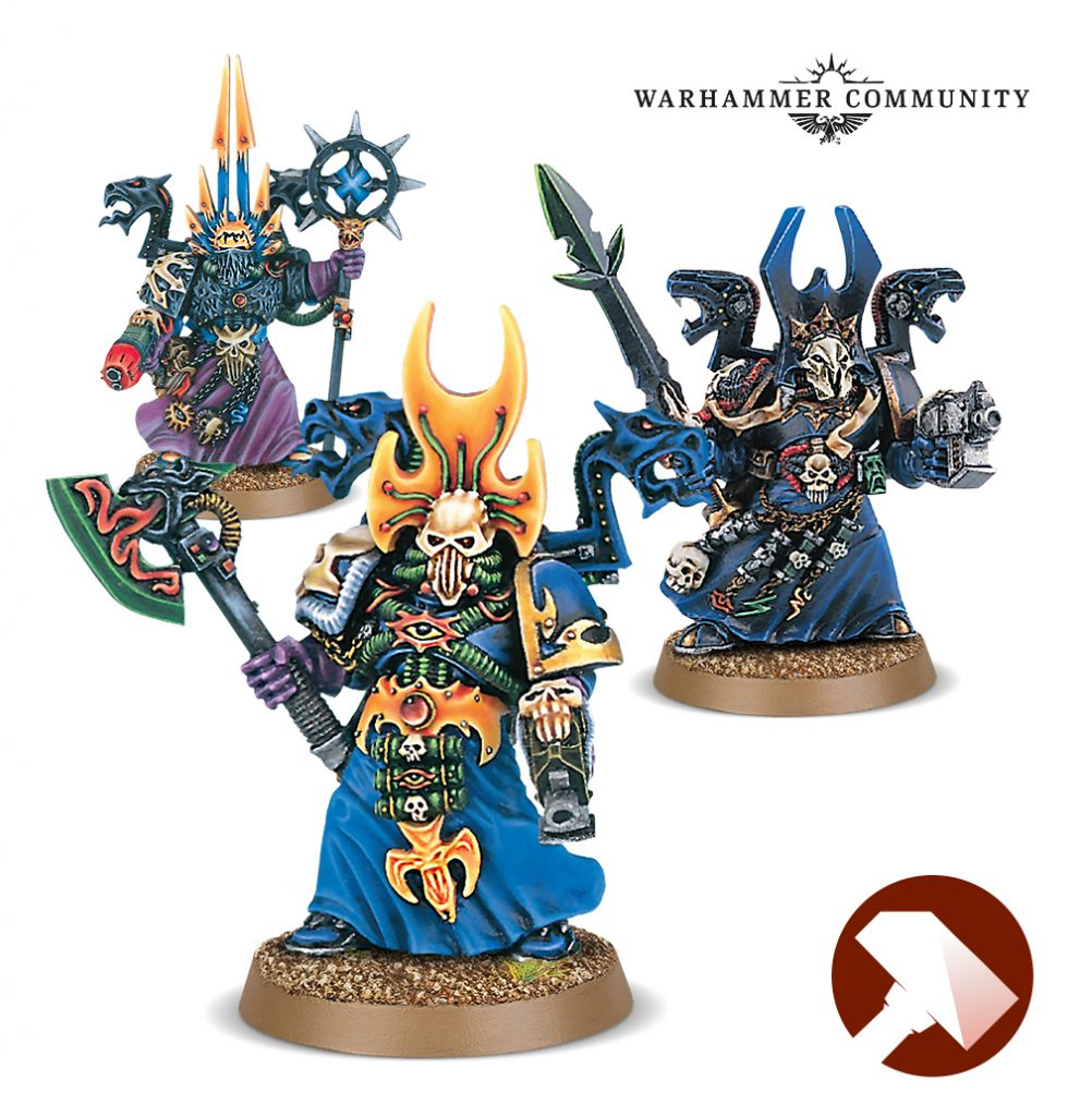Chaos Sorcerers Made To Order - Games Workshop