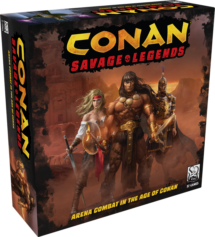 Conan Savage Legends Box - Shinobi7
