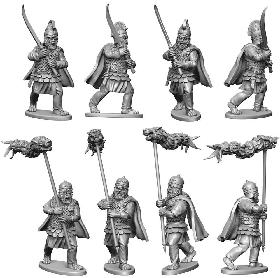 Dacian Command Figures - Victrix