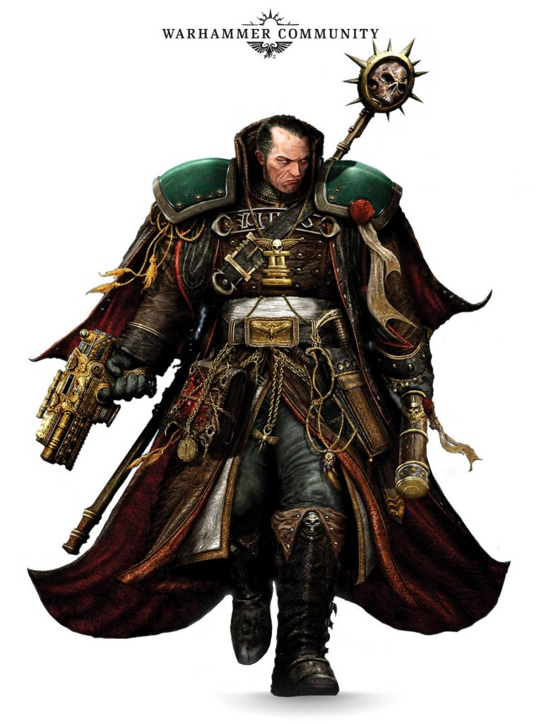 Eisenhorn Art - Games Workshop