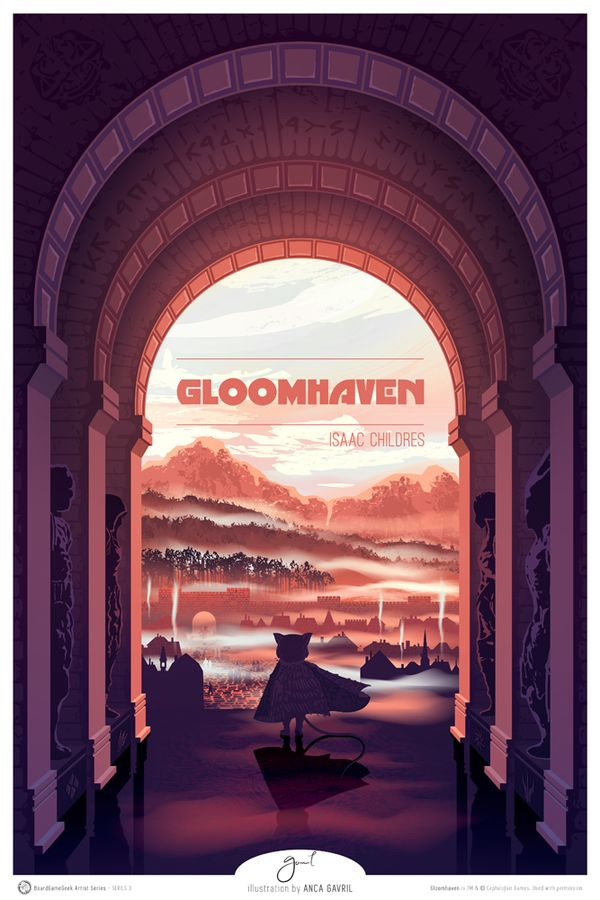 Gloomhaven by Anca Gavril