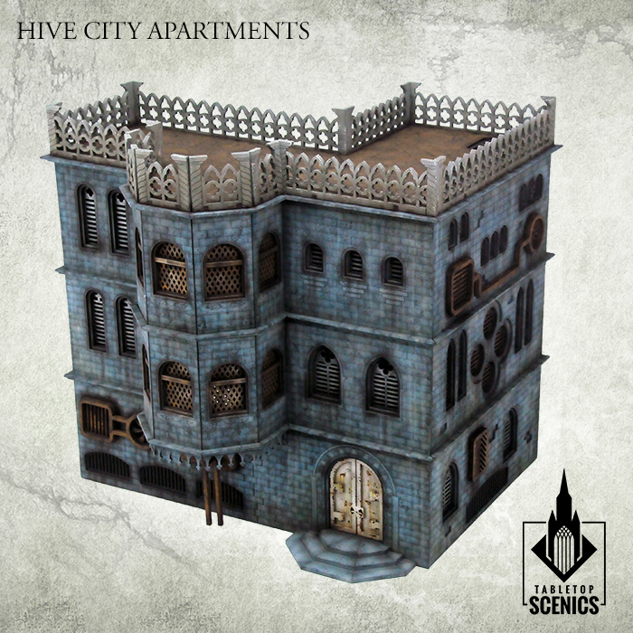 Hive City Apartments Painted - Kromlech