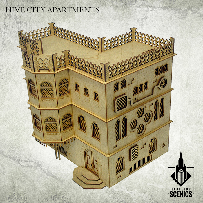 Hive City Apartments Unpainted - Kromlech