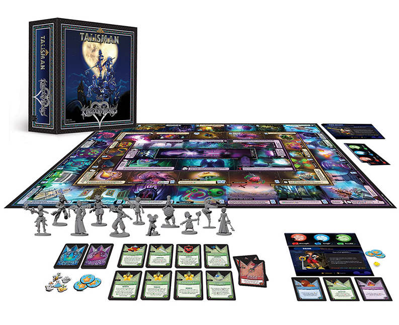 Kingdom Hearts Talisman Contents - USAopoly