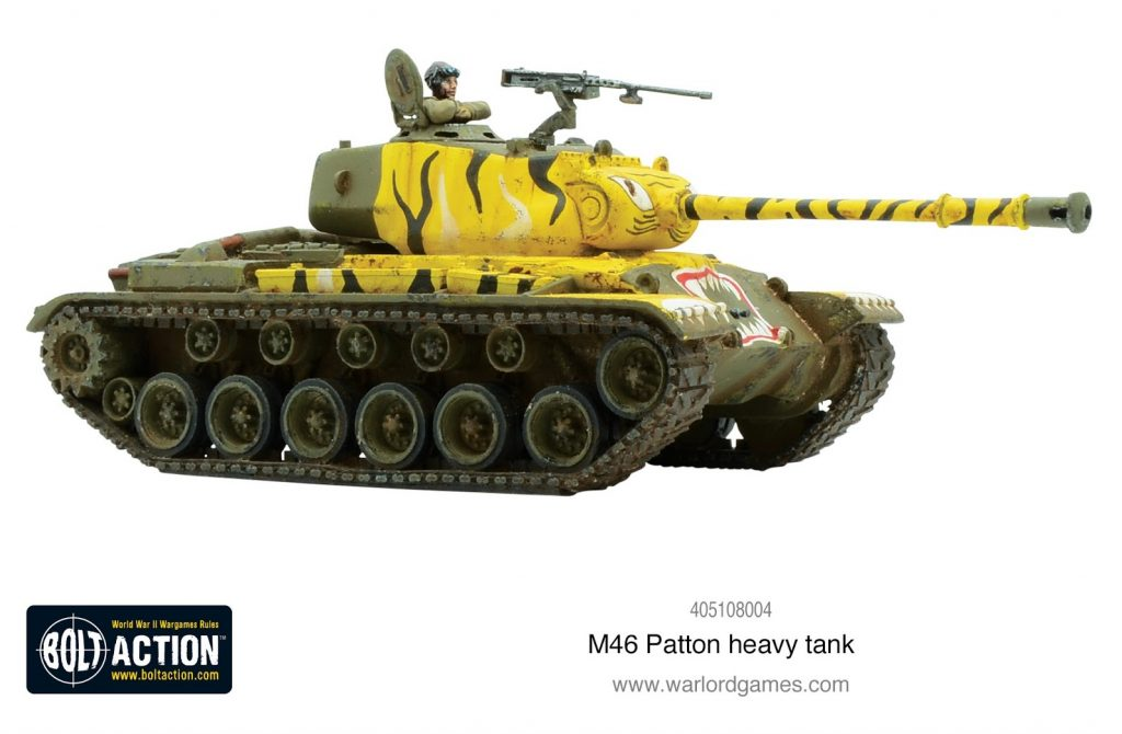 M45 Patton Heavy Tank Model - Warlord Games