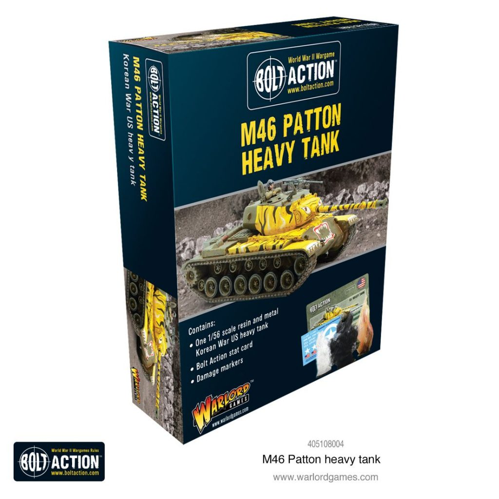 M46 Patton Heavy Tank - Warlord Games
