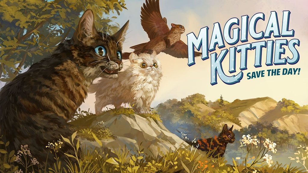 Magical Kitties Save The Day - Atlas Games