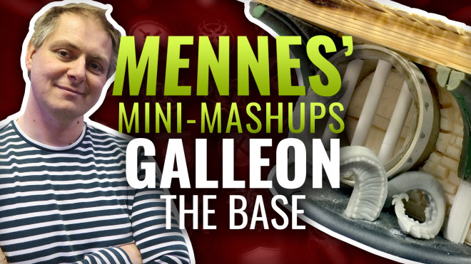 Mennes' Mini Mash-Up: Galleon – Part One