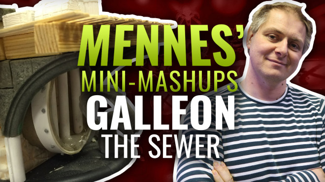Mennes' Mini Mashup: Galleon – Part Two