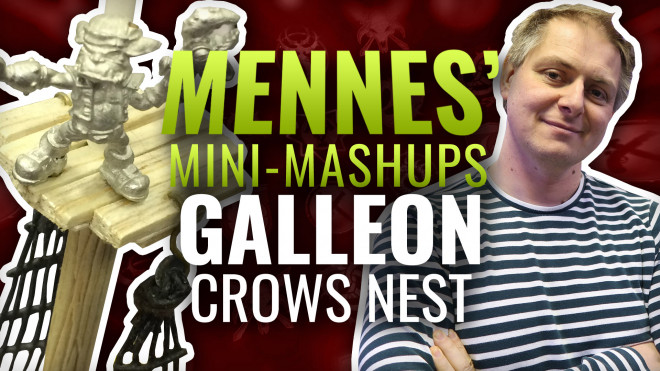 Mennes' Mini Mashup: Galleon – Part Six