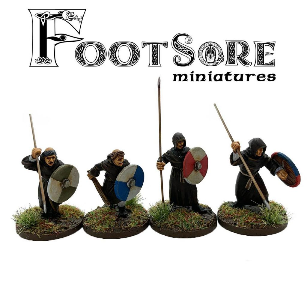 Milites Christi Warrior Monks With Spears - Footsore Miniatures