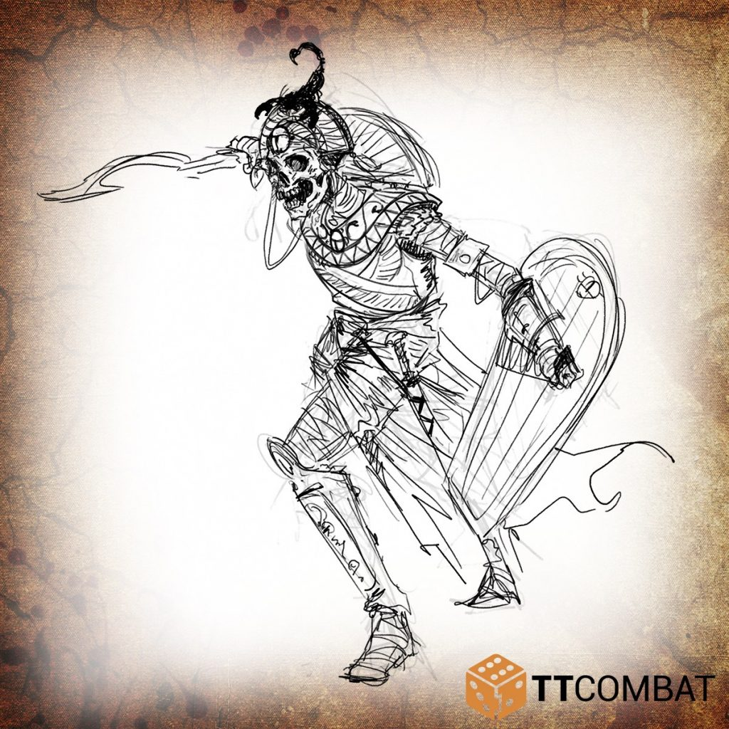 Mummy Champion - TTCombat