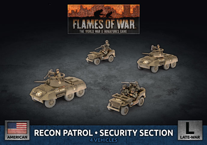 Recon Patrol Security Section - Flames Of War