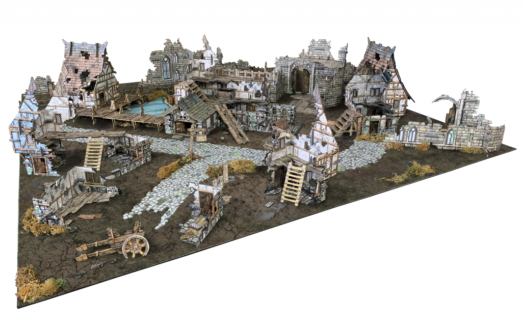 Ruined Village Table - Battle Systems
