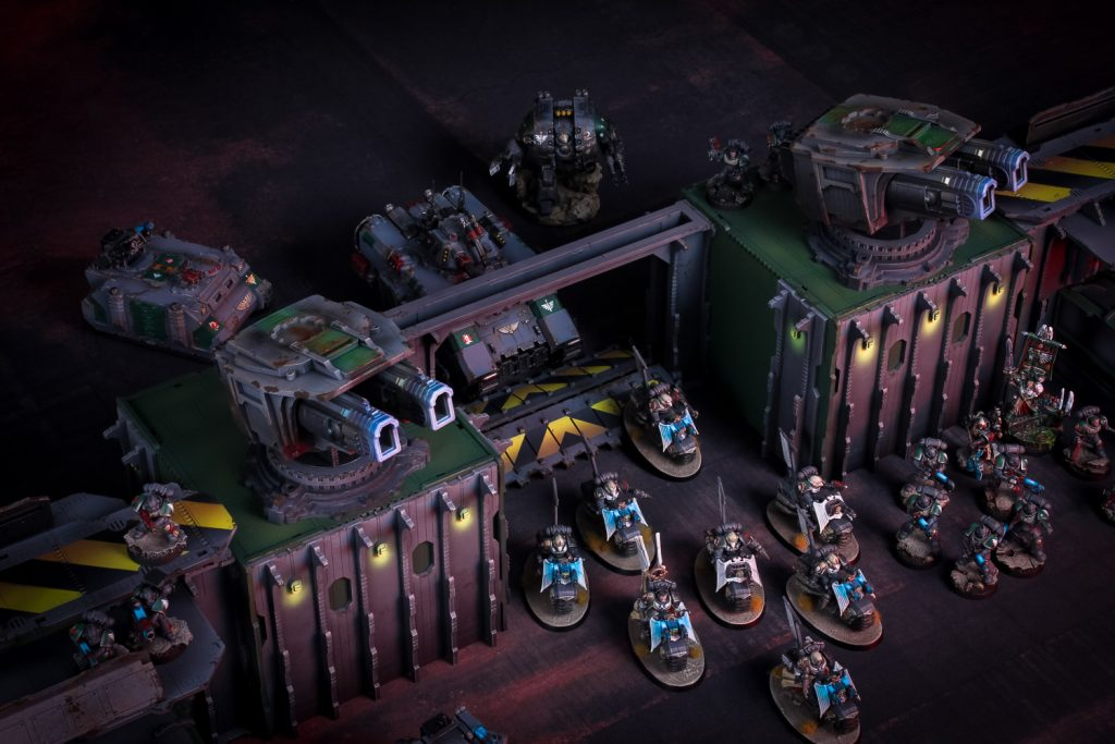 Strider's Landing Fortified Gate - Death Ray Designs
