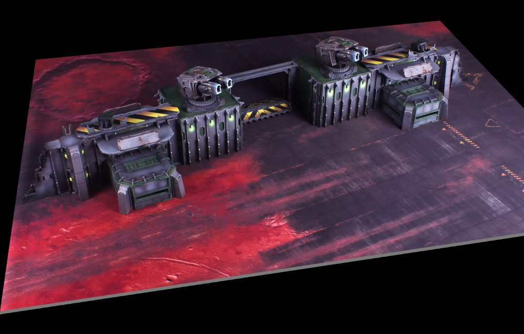 Strider's Landing Fortified Gate Full Table - Death Ray Designs