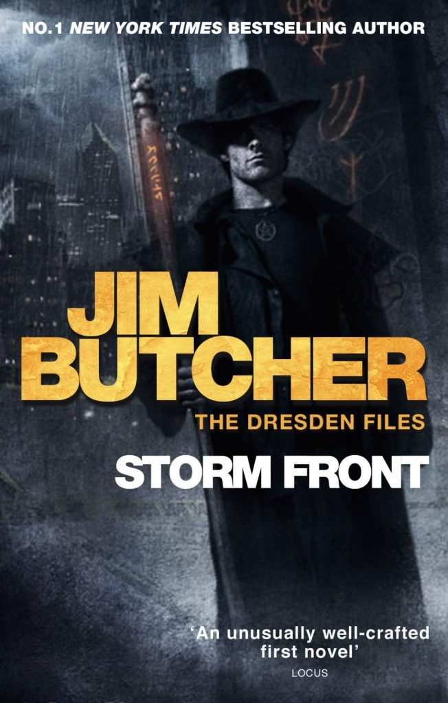 The Dresden Files Stormfront by Jim Butcher