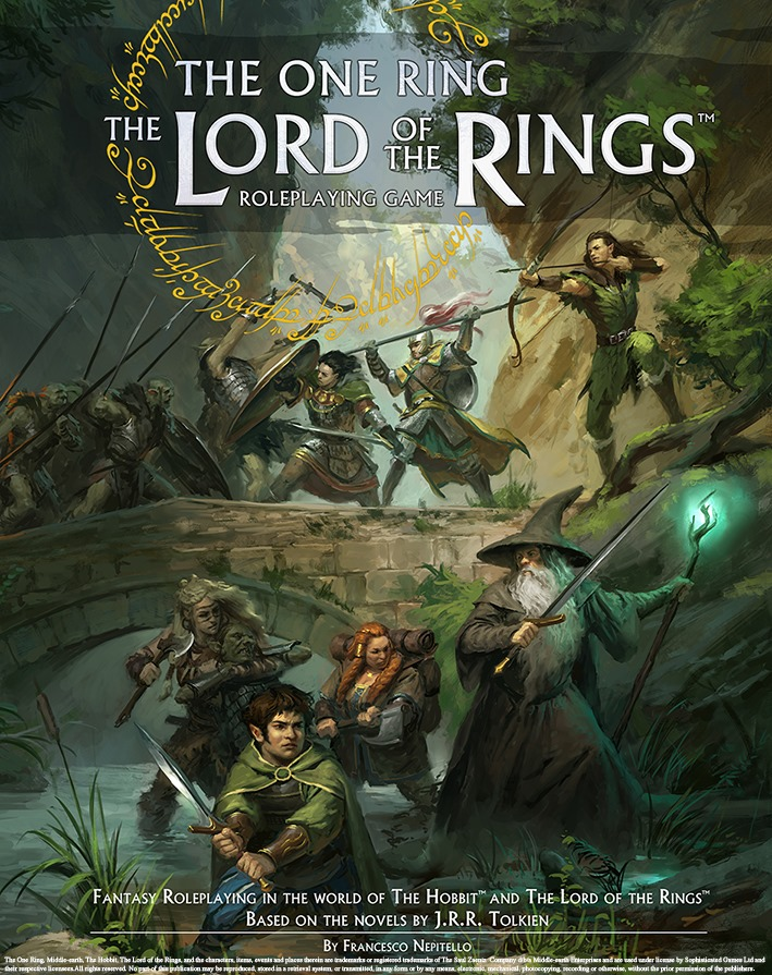 The One Ring The Lord Of The Rings RPG - Cubicle 7