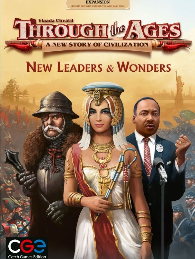 Through The Ages New Leader & Wonders - CGE