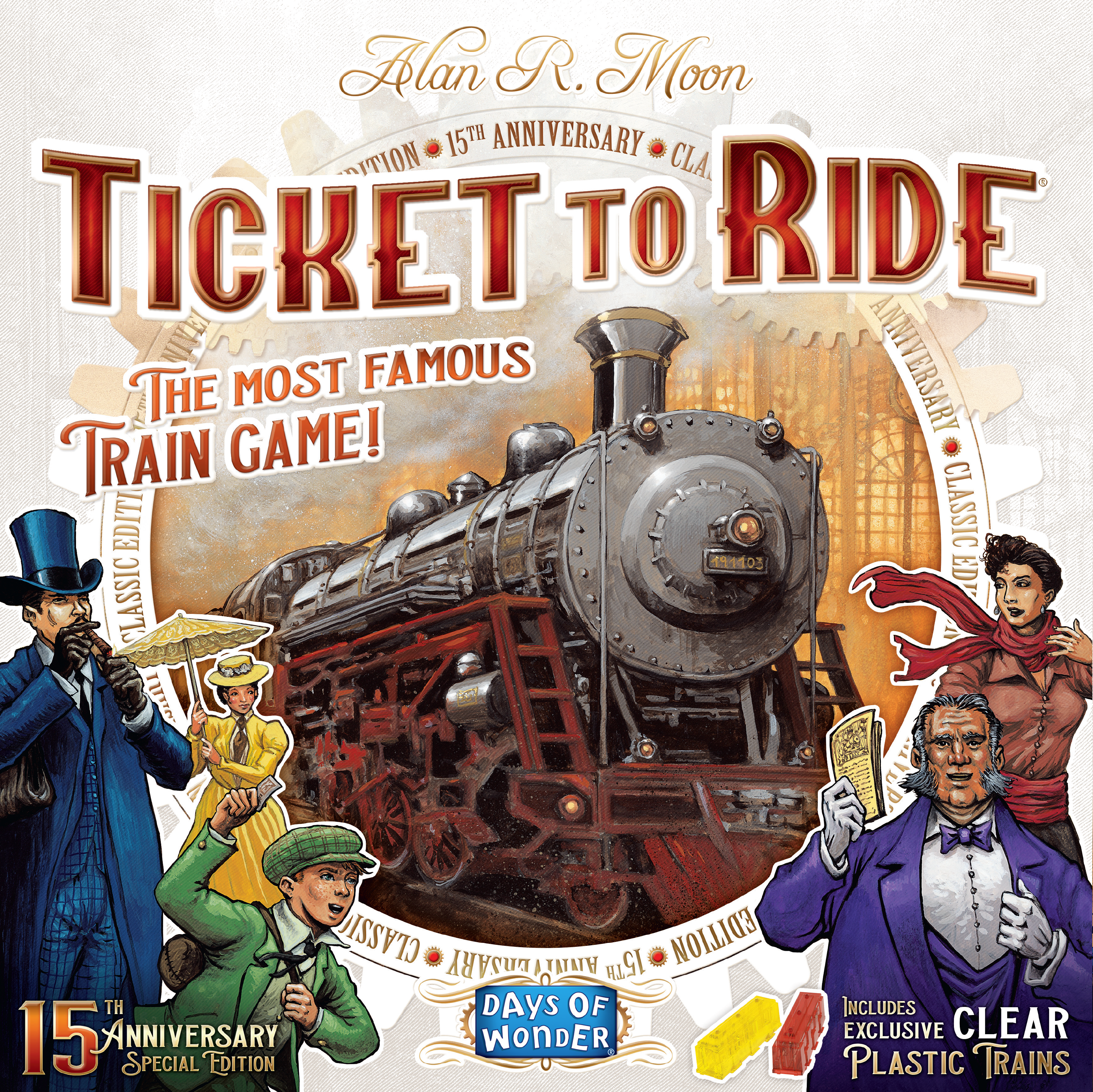 Ticket To Ride Celebrates Its Fifteenth Anniversary – OnTableTop