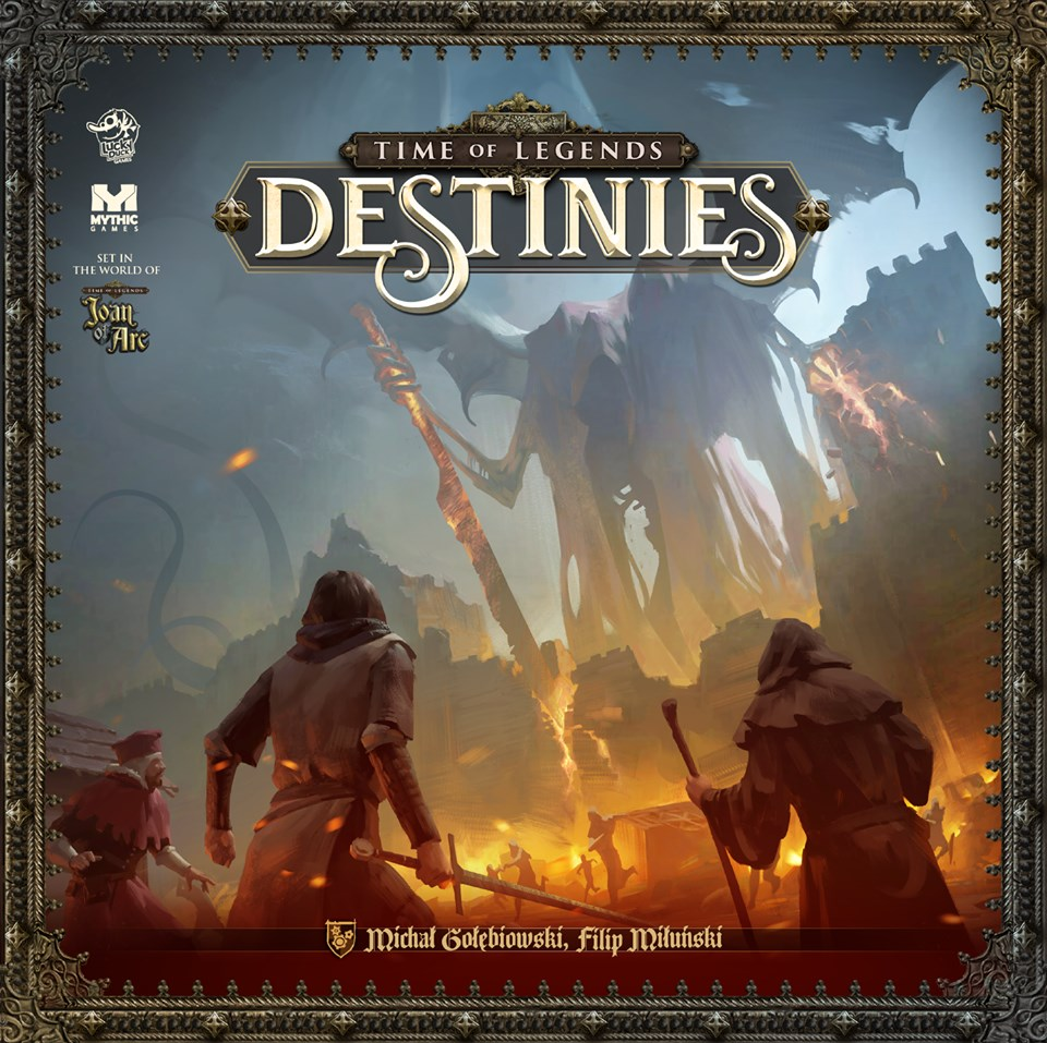 Time Of Legends Destinies - Mythic Games & Lucky Duck