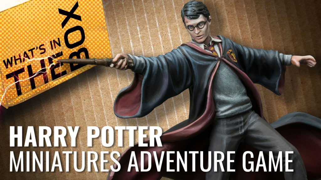 Harry Potter Miniatures Adventure Game Unboxing