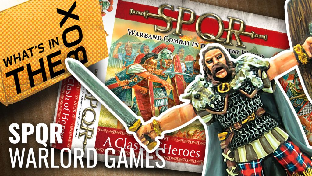 Unboxing: SPQR A Clash Of Heroes