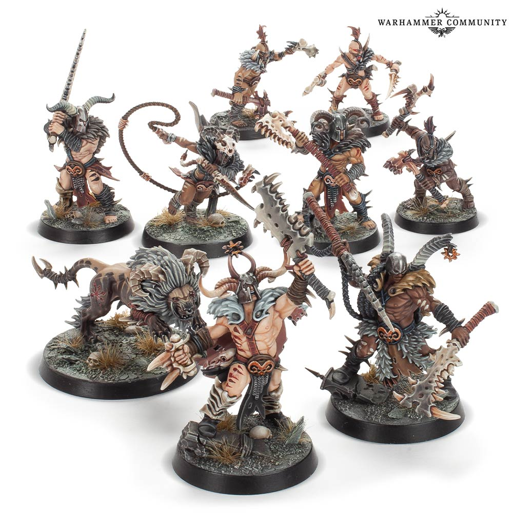 Untamed Beasts Warband - WarCry