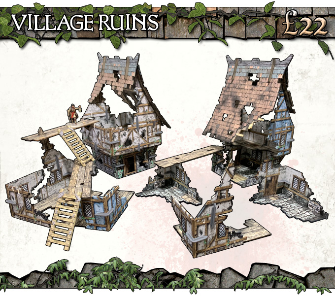 Village Ruins Add-On - Battle Systems