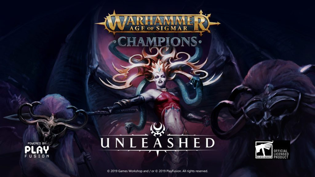 Warhammer Age Of Sigmar Champions Unleashed - PlayFusion
