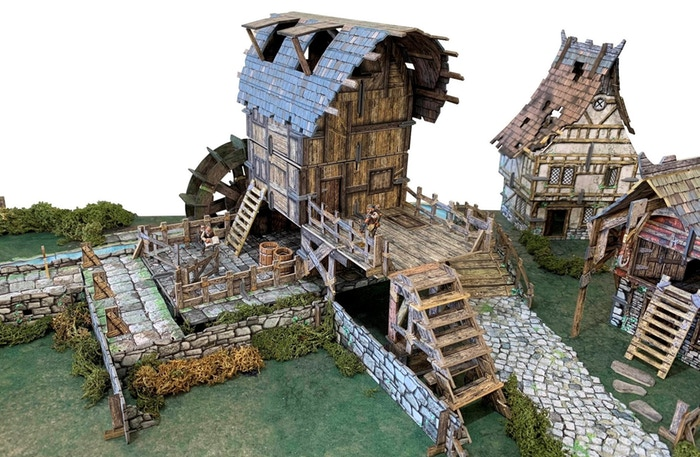 Water Mill In Game - Battle Systems