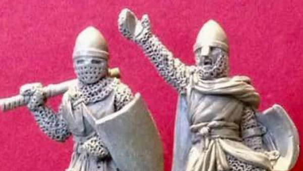 First Sculpts Completed For Hobday & Hicks Barons' War Range