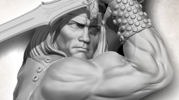 Shinobi7 Preview Classic Conan Sculpts Ahead Of Kickstarter