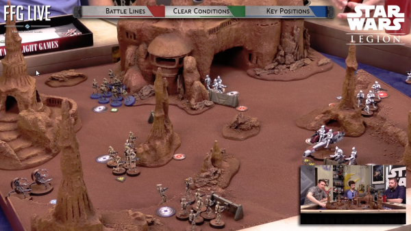 FFG Showcase Star Wars Legion: The Clone Wars