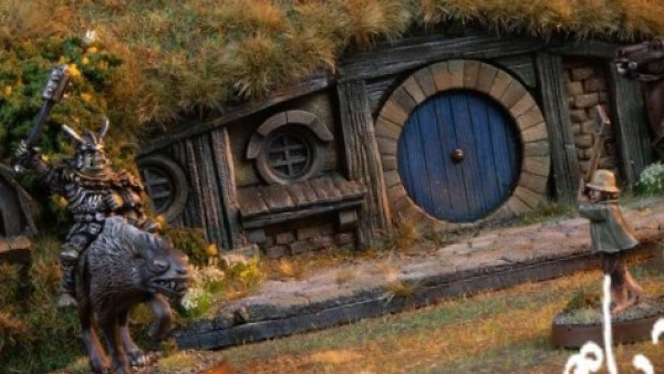Forge World Sculpt Hobbit Holes & Call On Dryad Skills