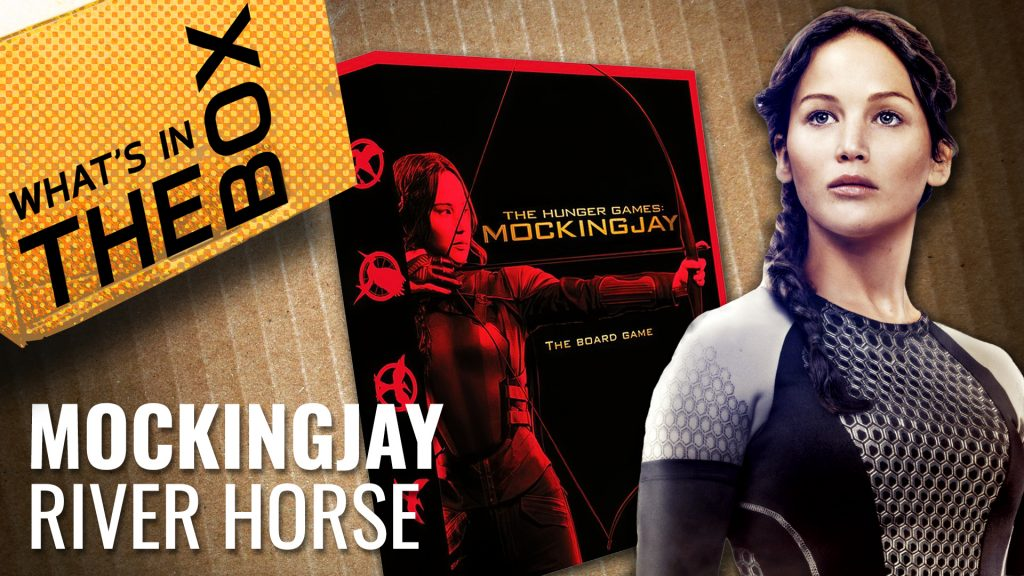 Unboxing Hunger Games: Mockingjay The Board Game