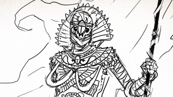 TTCombat Tease Undead Egyptian Army For Kickstarter
