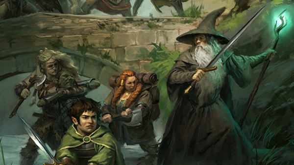A Beautiful New Cover Previewed For Cubicle 7's The One Ring
