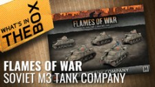 Flames Of War Unboxing: Soviet M3 Lee Tank Company