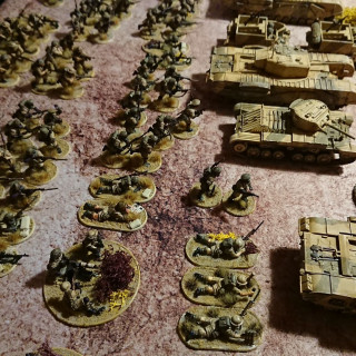 The entire army british 8th army! (well a small part of it)