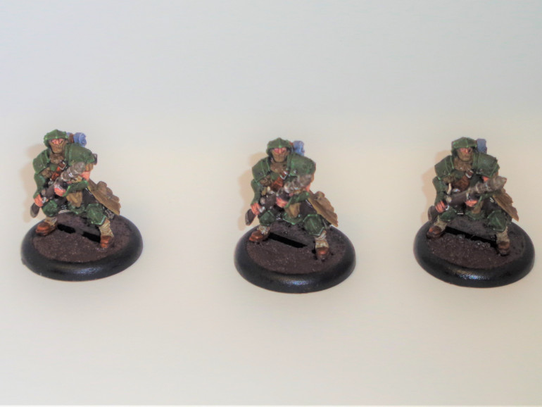 Trencher Infantry Rifle Grenadiers #1