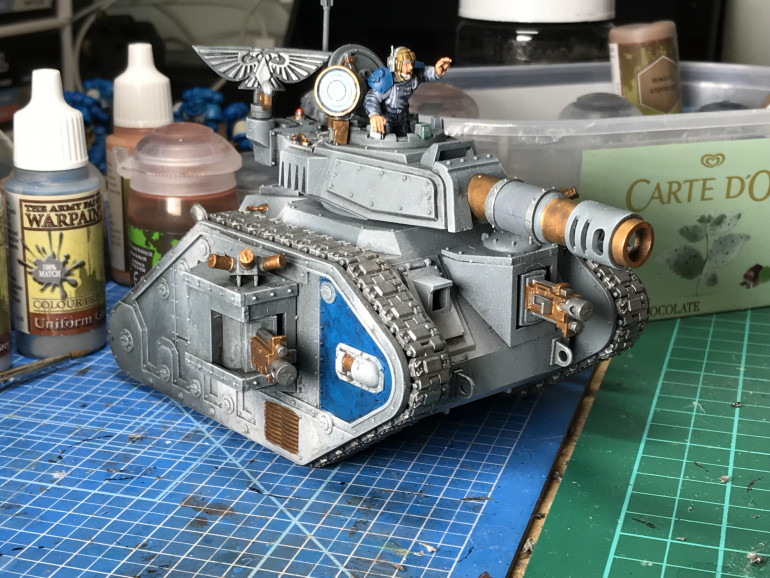 Hairybrains Tests Out Some Astra Militarum Paint Schemes On Tanks
