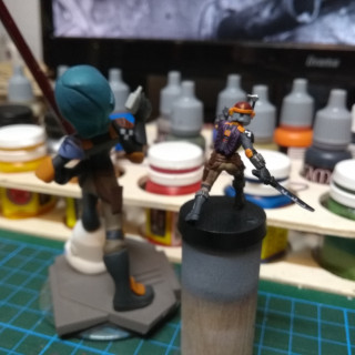 Sabine Wren and Bossk