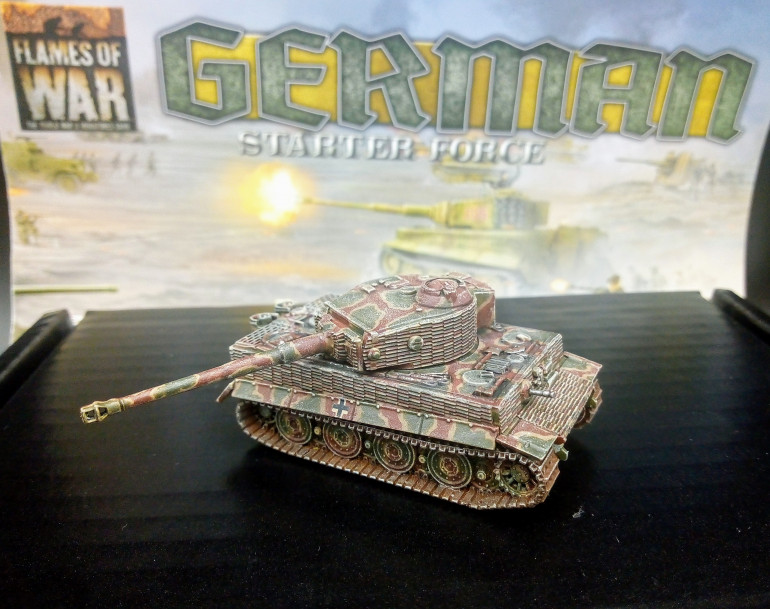 Have to say I absolutely love the Tiger miniature