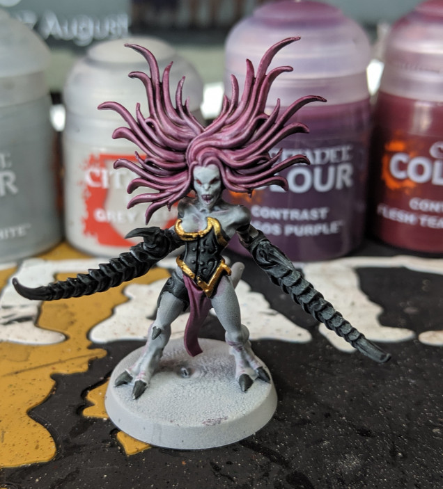 Test paint for the demonettes
