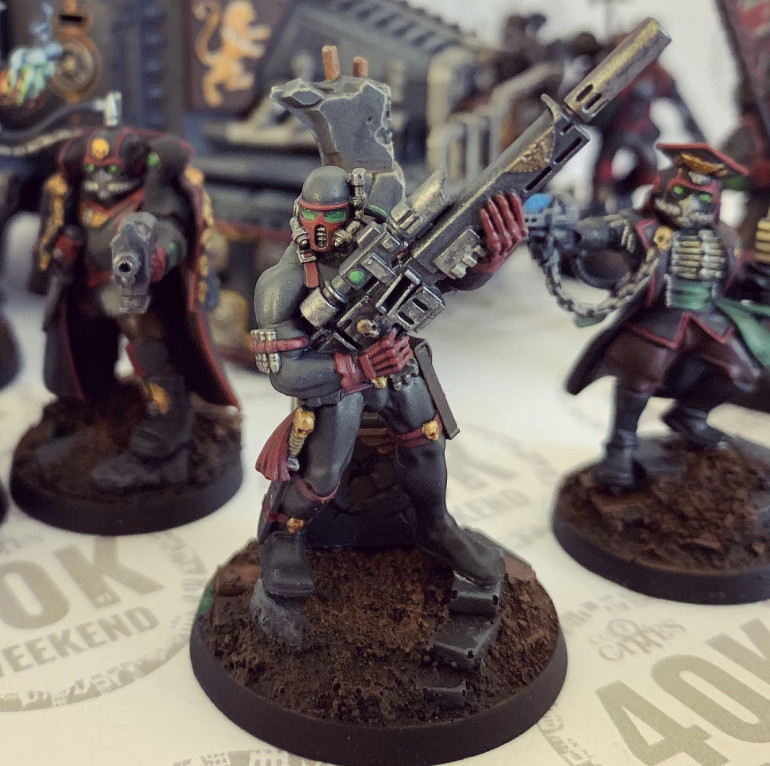 The Vindicare completes the models purchased for this force so far!