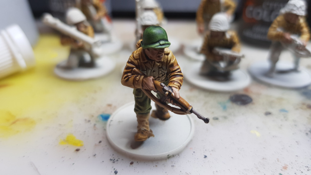 Contrast Painted US Army Bolt Action